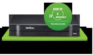 HDCVI 1004 tecnologia tribrida