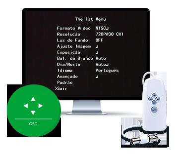 Configuração com o VHD Control da VHD 3140 VF G4 Intelbras