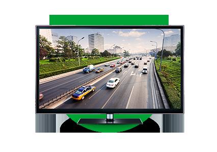 Resolução Full HD em todos os canais da NVD 1208 Intelbras