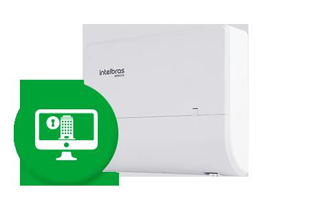 Compatível com plataformas de software de controle de acesso e portaria remota*