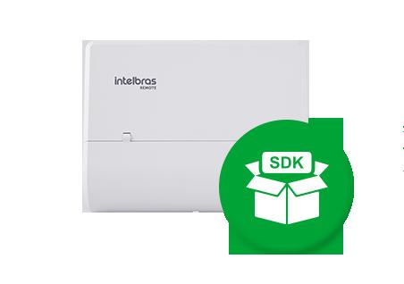 Protocolo SDK que permite a integração com softwares de controle de acesso e comunicação condominial.*