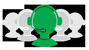 Uso em call centers