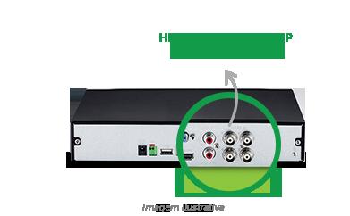 DVR Intelbras com Tecnologia Auto Sense