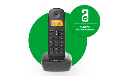 Telefone sem fio digital Intelbras TS 2510