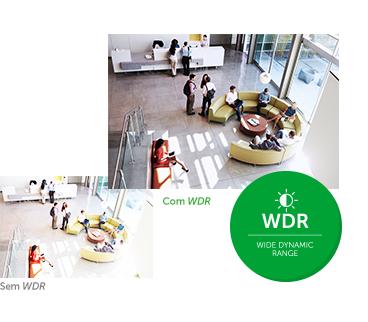 Função Menu OSD e WDR da VHD 3120 SD Intelbras