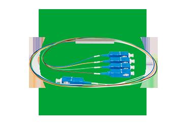 Splitters ópticos conectorizados