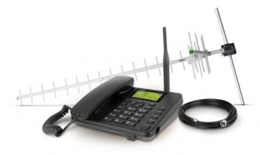 Kit celular fixo de longo alcance dual chio cfa 5022
