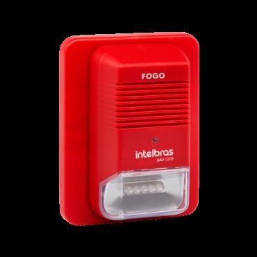 SAV 520E - Sinalizador audiovisual endereçável