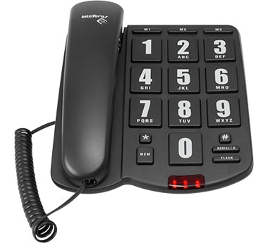 Telefone com fio Tok Fácil