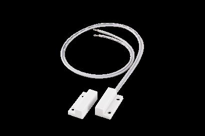 Sensor magnético de abertura de sobrepor com fio para portas e janelas