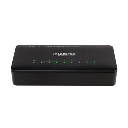 Switch 8 portas Fast Ethernet